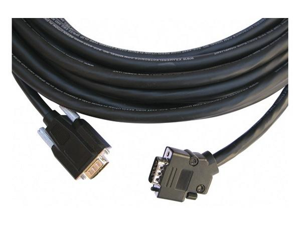 CP-GM/GM/XL-75 VGA HD Plenum Cable with a Side-Angled Connector 75ft by Kramer
