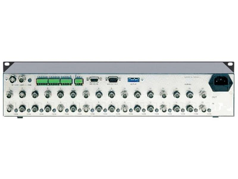 VS-162V 16x16 Composite Video Matrix Switcher (90MHz) by Kramer