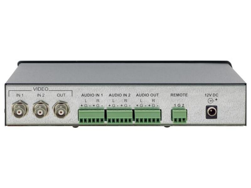 VS-24xl 2x1 Composite Video and Balanced Stereo Audio Standby Switcher by Kramer