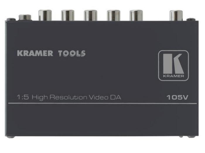 105V 1x5 Composite Video Distribution Amplifier by Kramer