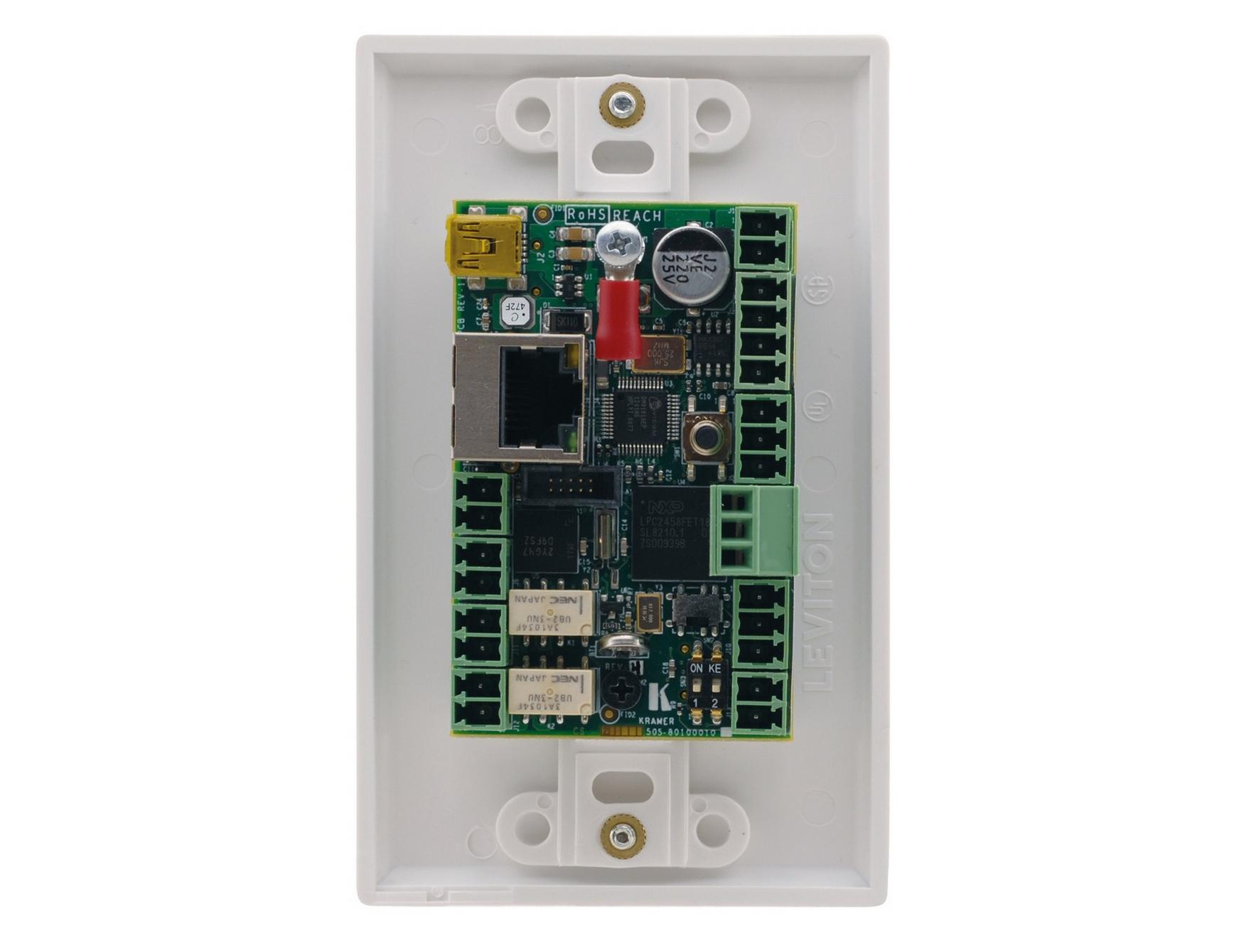 RC-78R 8-Button Room Controller RS232/RS485/IP Control by Kramer