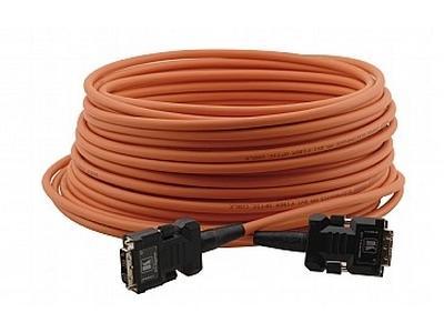 C-FODM/FODM-66 Fiber Optic/DVI Hybrid Cable with Converters 66ft by Kramer
