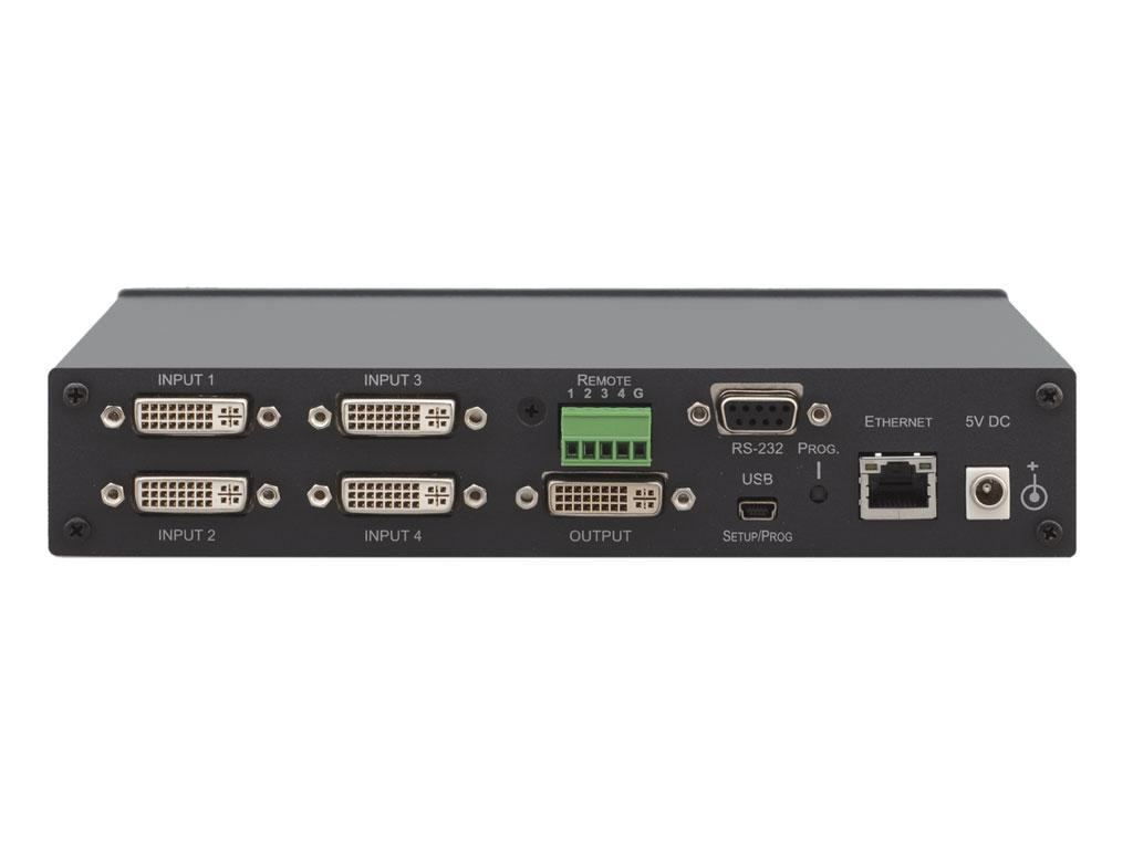 VS-41HDCP 4x1 DVI Switcher by Kramer