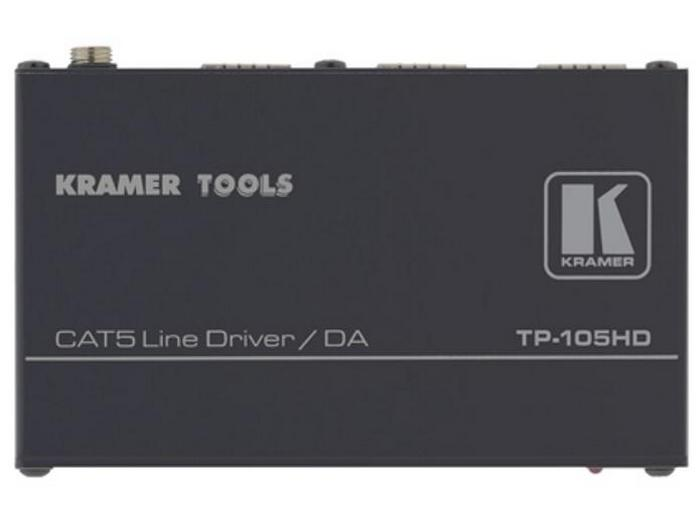 TP-105HD-b 1x2 Twisted Pair Line Driver and Distribution Amplifier by Kramer