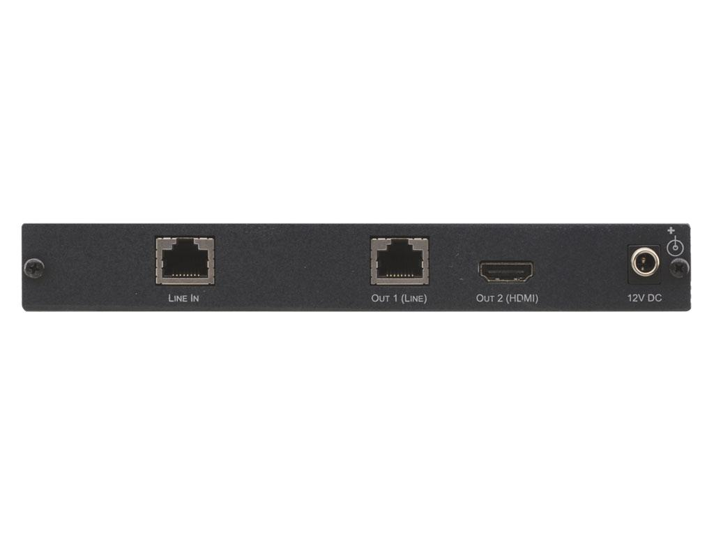 TP-575 HDMI Extender/Amplifier with Local and loop Cat5 out by Kramer
