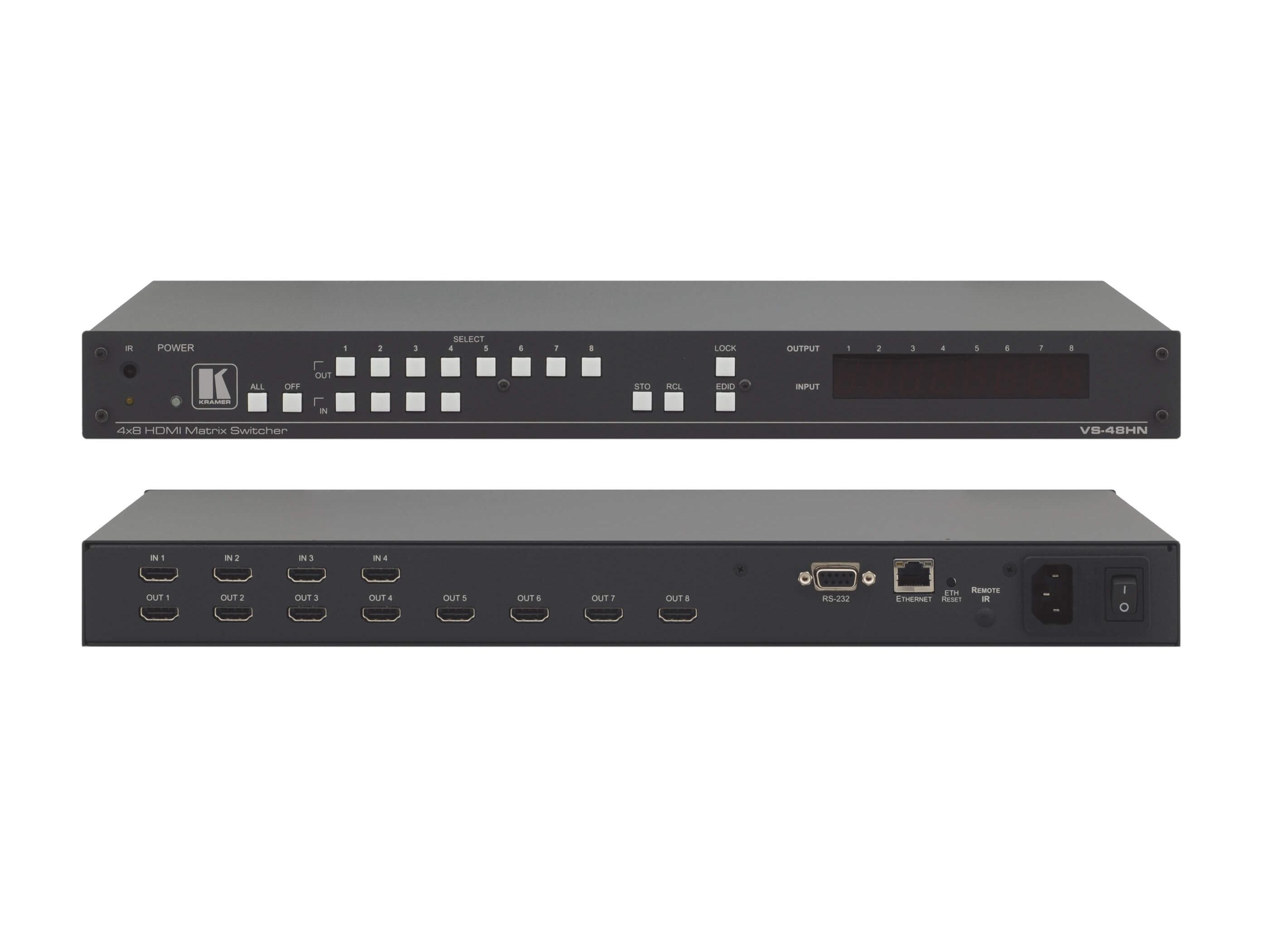 VS-48HN 4x8 HDMI Matrix Switcher by Kramer