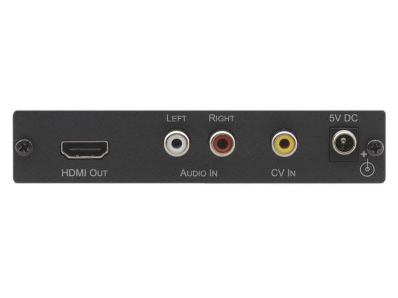 VP-410 Composite Video and Stereo-Audio to HDMI Scaler by Kramer