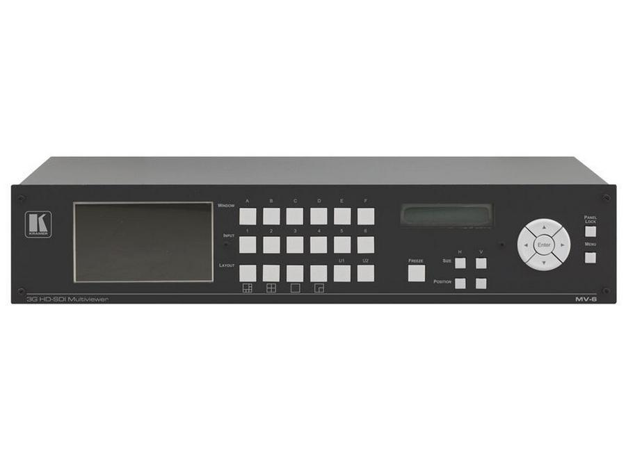 MV-6 3G HD-SDI Multiviewer by Kramer