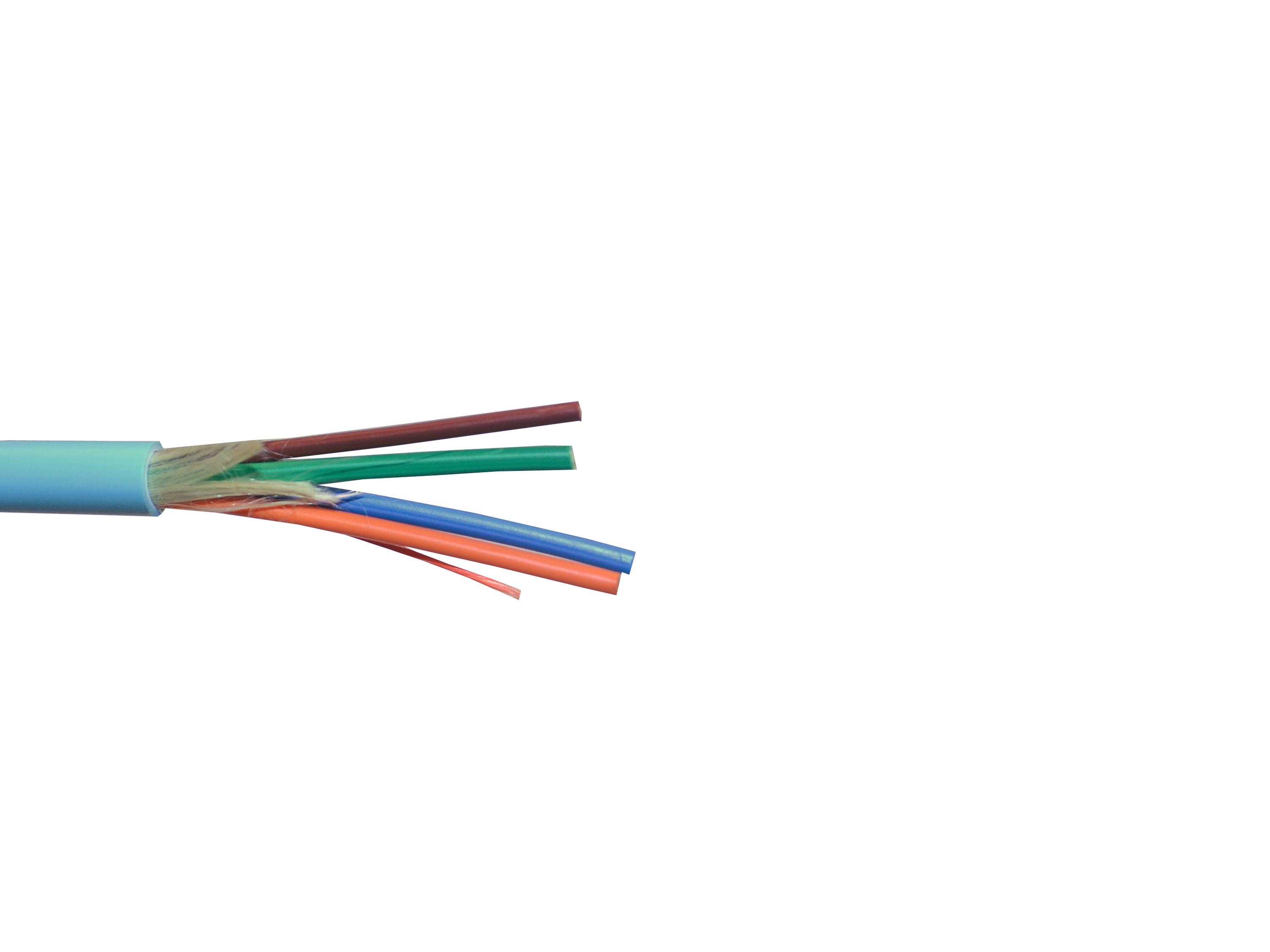 BCP-4F/50M-1000 1000ft Optical Fiber Plenum and LSZH Rated Breakout Cable by Kramer