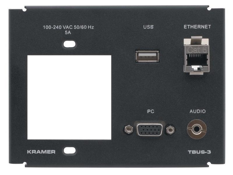 T3F-1S 1 Single Power Socket Slot by Kramer