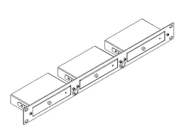 RK-3T 19-Inch Rack Adapter for TOOLS by Kramer