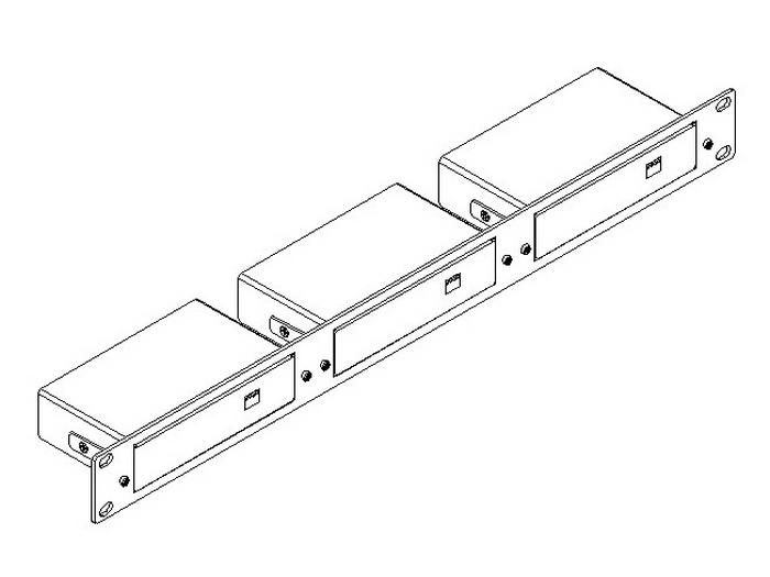 RK-3TR 19-Inch Rack Adapter for Oversize TOOLS by Kramer