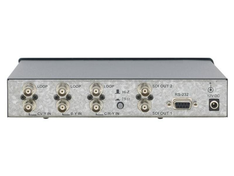 FC-7501 Multi-Standard Composite Video/ s-Video and Component Video to SDI Format Converter by Kramer