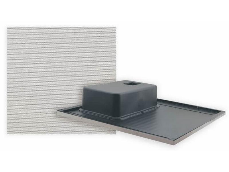 SPK-C815(W) Mono Half 2x1 Ceiling Tile Speaker w No bass reflex by Kramer