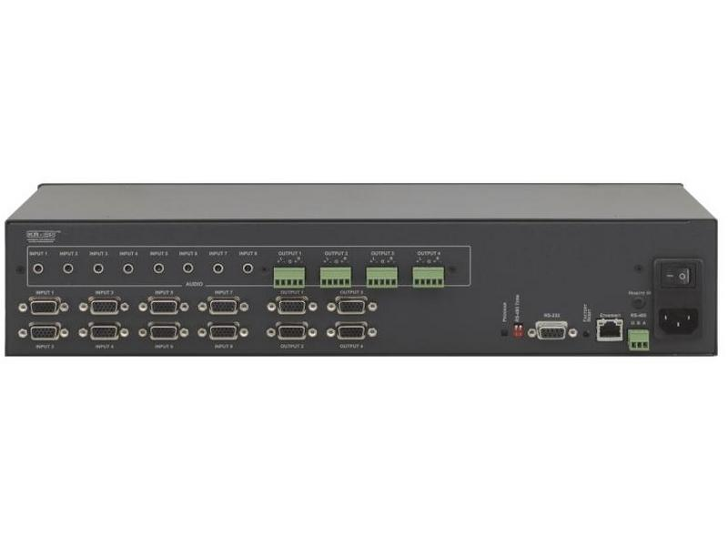 VP-8x4AK 8x4 VGA Video and Stereo Audio Matrix Switcher by Kramer