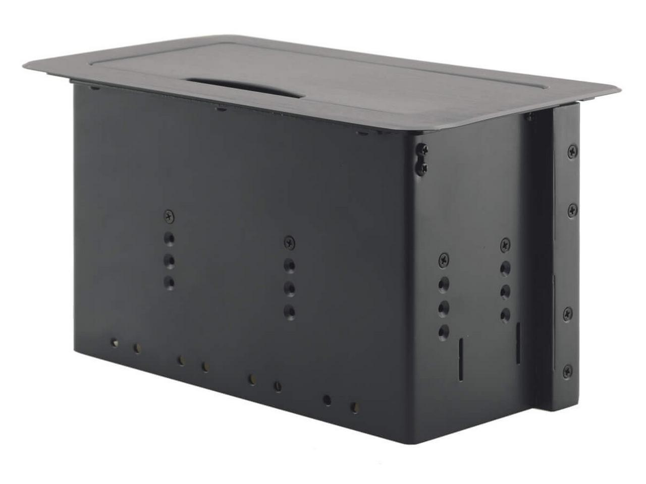 TBUS-6xl(B) Table Mount Modular Multi-Connection Solution/Black by Kramer