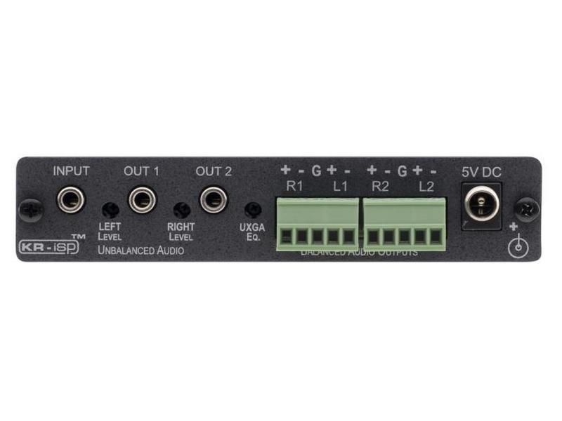 VP-200AK 1x2 VGA Video and Stereo Audio Distribution Amplifier by Kramer