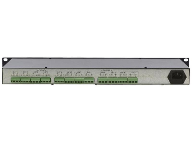 VM-1610 1x10 Balanced Stereo Audio Distribution Amplifier by Kramer