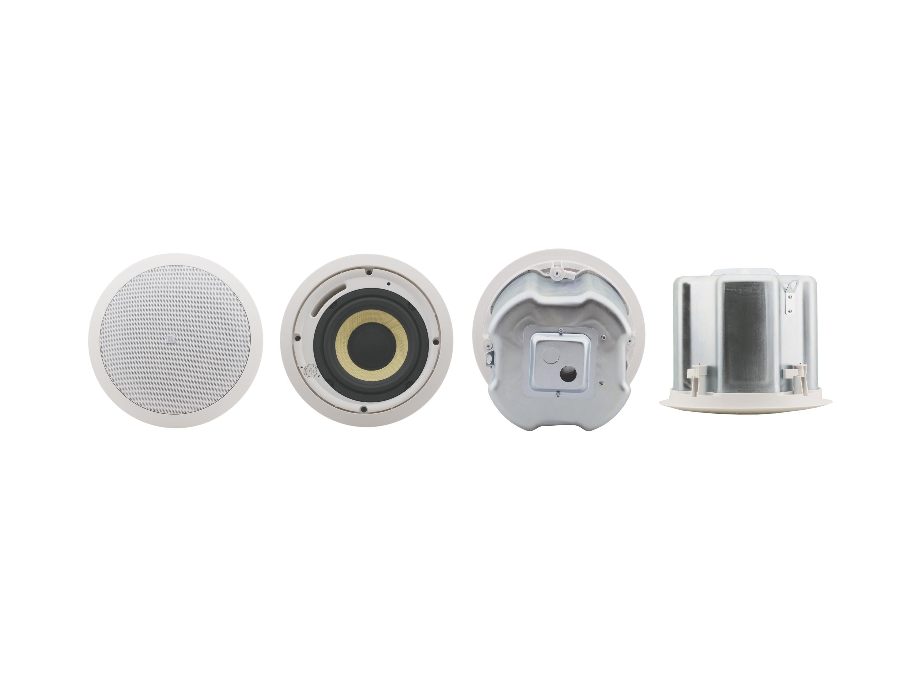 YARDEN 6-CH(W) 6.5 inch Closed-Back 2-Way Ceiling Speakers/Made with Kevlar Woofers by Kramer