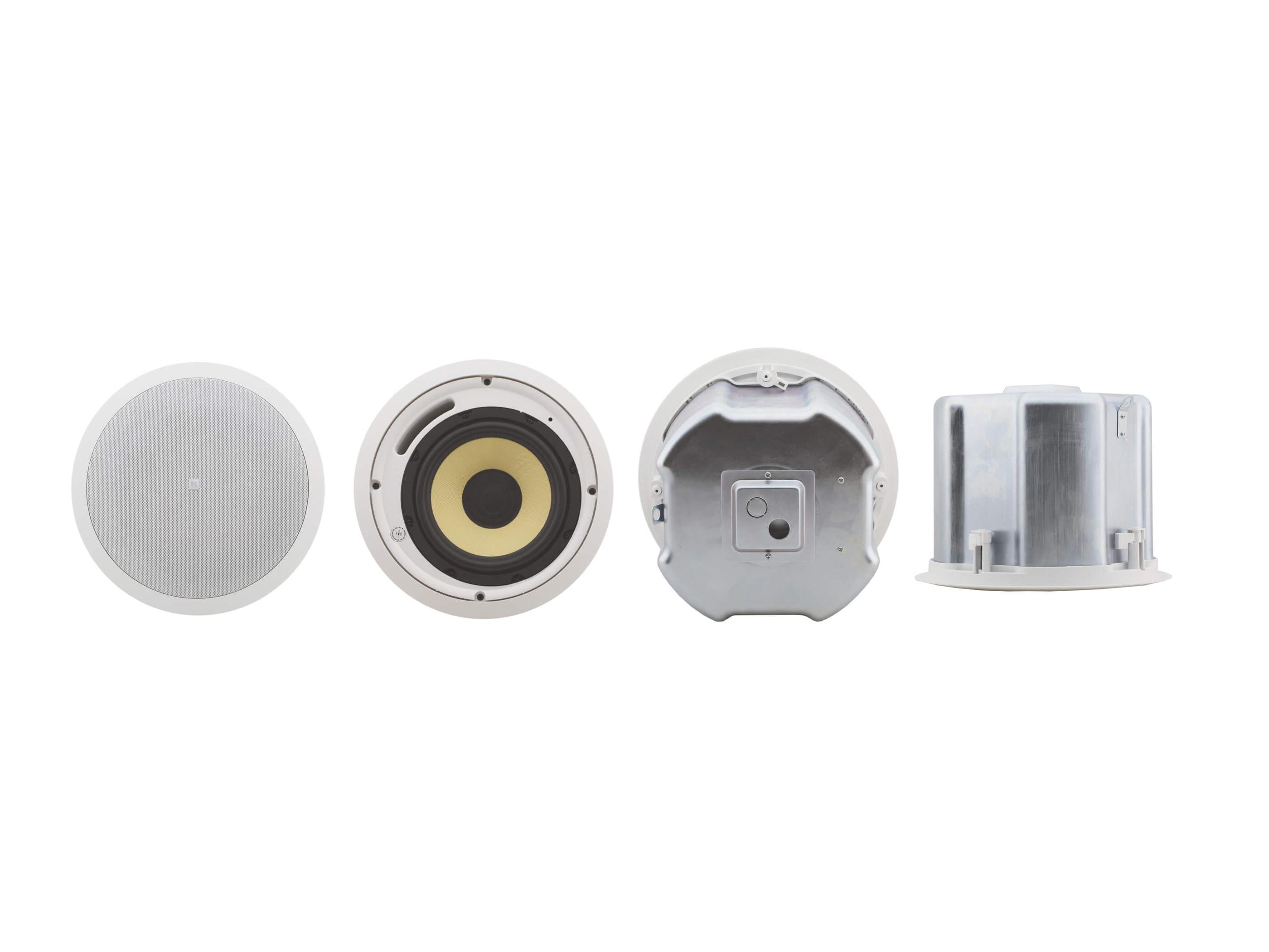 YARDEN 8-CH(W) 8 inch Closed-Back 2-Way Ceiling Speakers/Made with Kevlar Woofer/White by Kramer