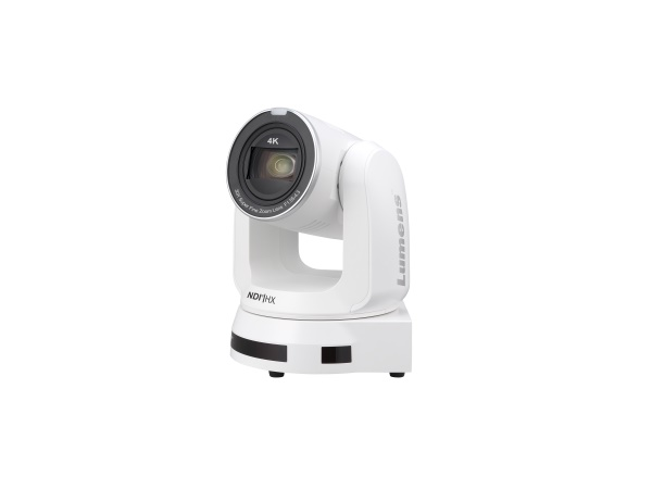 VC-A71PNW 4K NDI/HX PTZ Camera (White) by Lumens