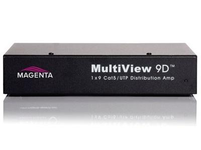 2211029-01 MultiView 9D 1x9 CAT5 Distribution Amplifier by Magenta Research