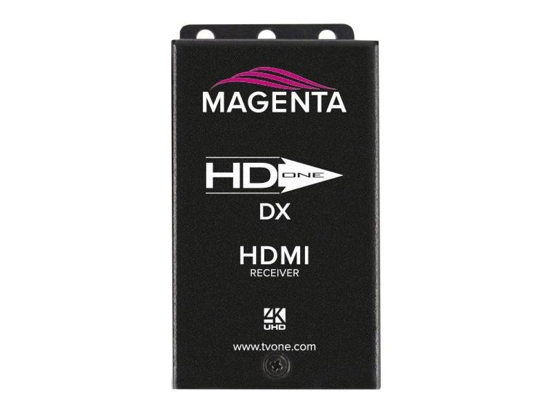2211094-02 HD-One DX HDMI 4K UHD HDBaseT Extender (Receiver) 328 ft by Magenta Research