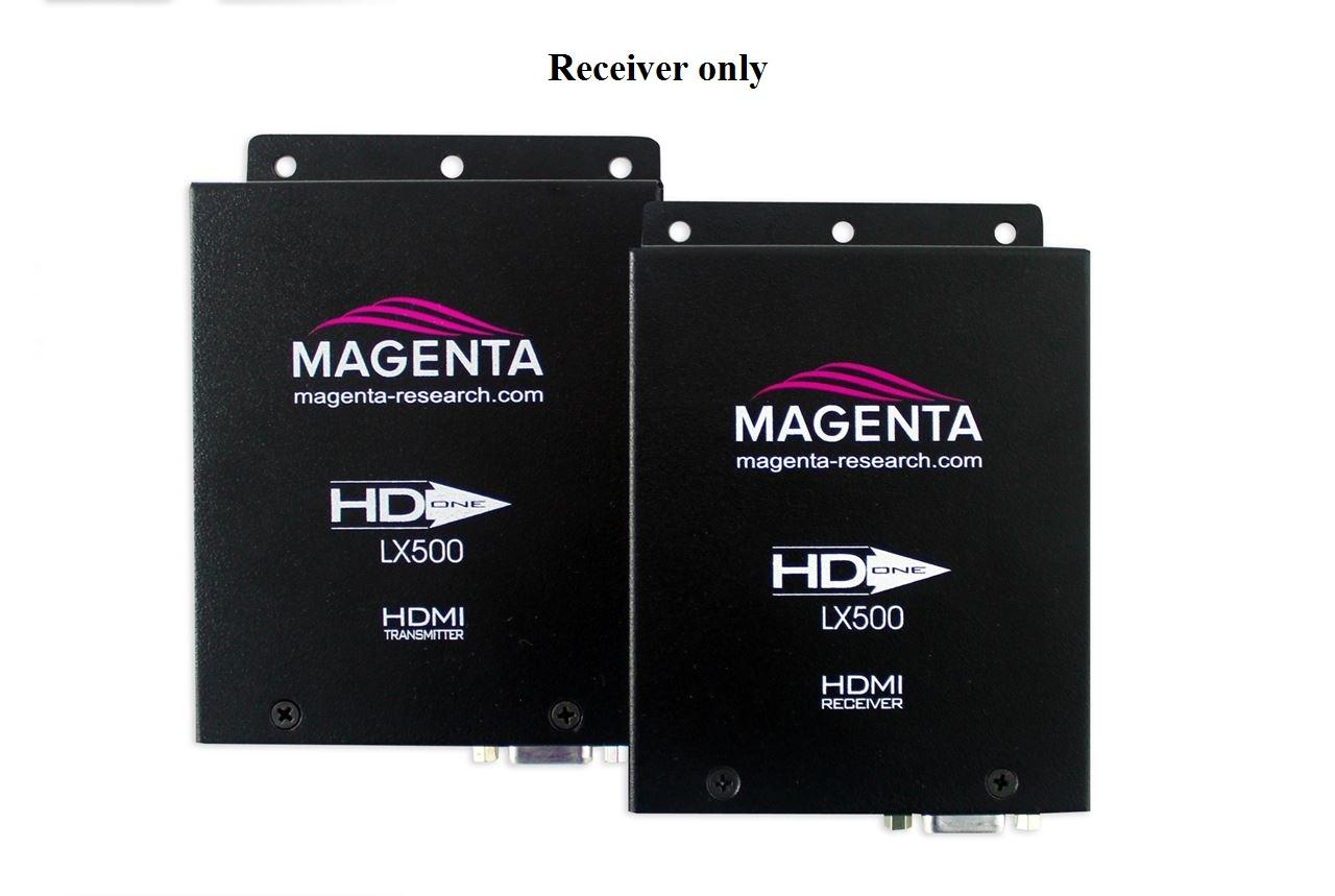 2211124-01 HD-One LX500 HDMI UTP Extender (Receiver) 500 ft with IR/RS-232 by Magenta Research