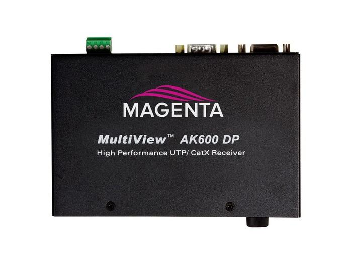 2620018-04 Multiview II VGA/Analog 600ft Extender (Receiver)/Duplex Serial and Stereo Audio by Magenta Research