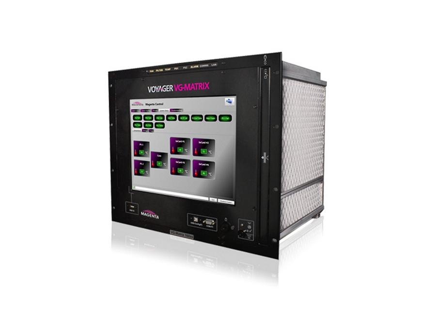 2330001-01 Matrix switch scalable to 160x160 (simplex)/ I/O 160 (Duplex) by Magenta Research