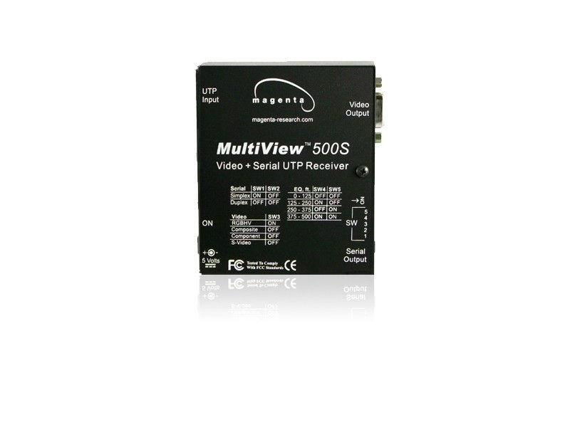 2620006-02 Multiview RGBHV/Component/Composite/S-Video and Serial UTP/CAT5 Receiver MV500-S by Magenta by Magenta Research