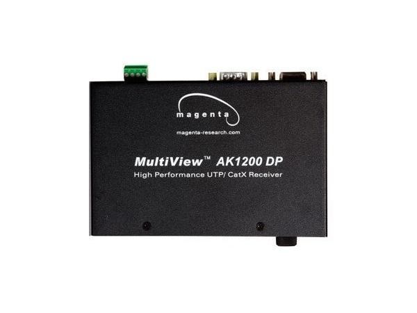 2620030-03 Multiview Dual RGBHV/Component/Composite/S-Video/Audio and Duplex Serial UTP/CAT5 Receiver AK1200DP-SA by Magenta Research