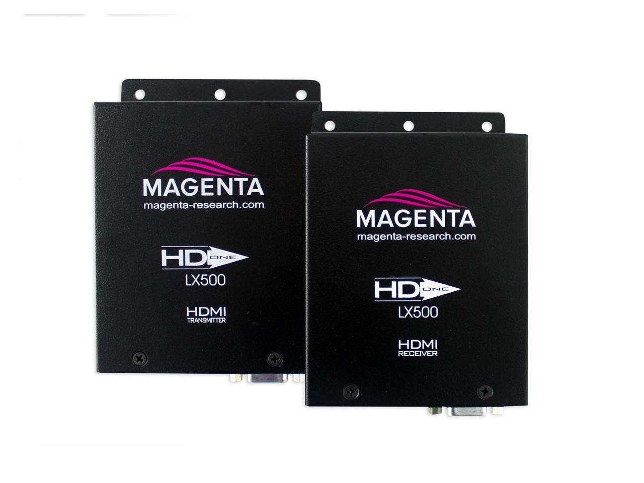 2211113-02 HD-One LX500 HDMI UTP Extender (Transmitter/Receiver) Kit 500 ft with IR/RS-232 by Magenta Research