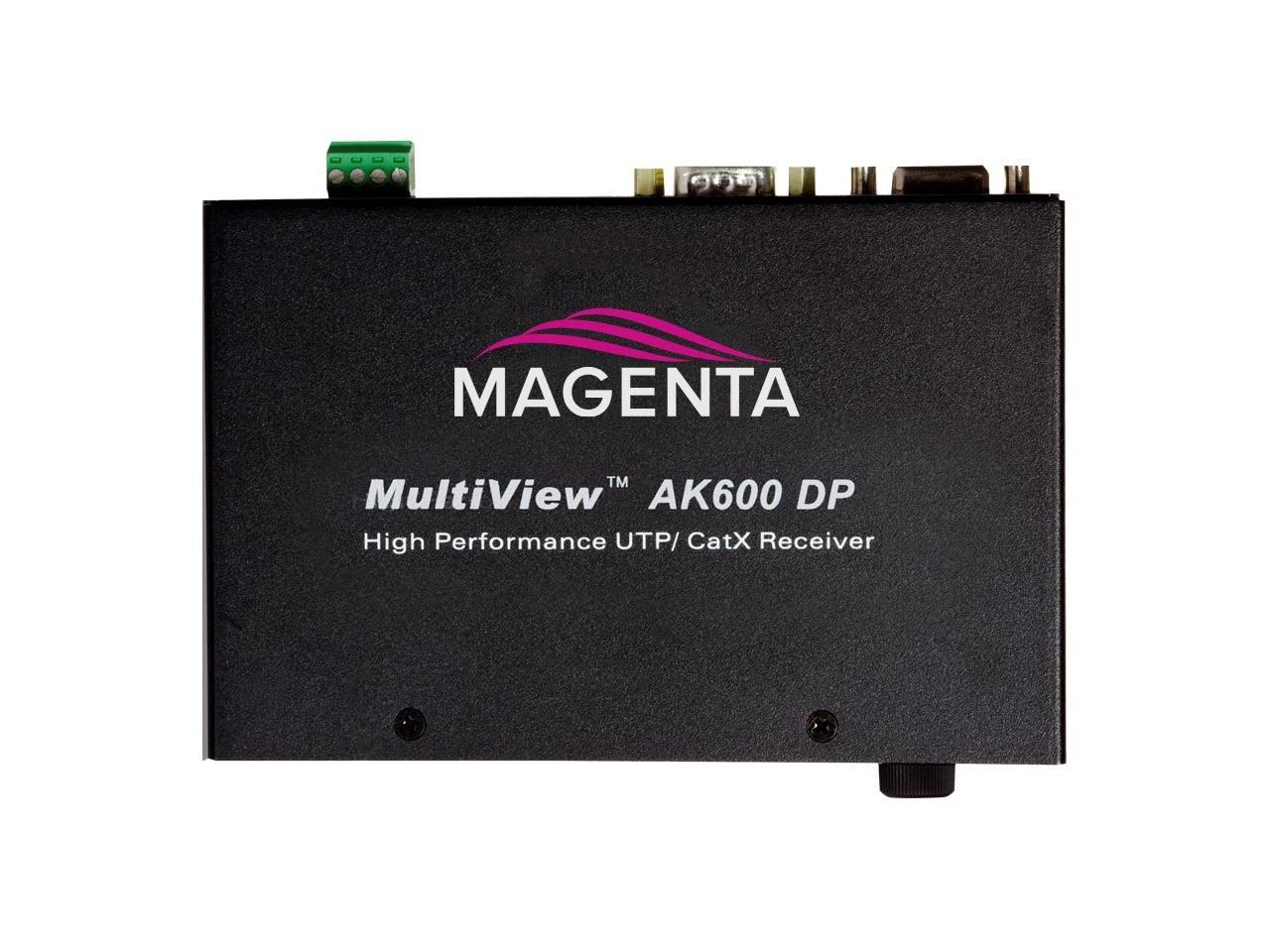 2620006-03 VGA/UTP 600ft Extender (Receiver) with Audio or simplex serial by Magenta Research