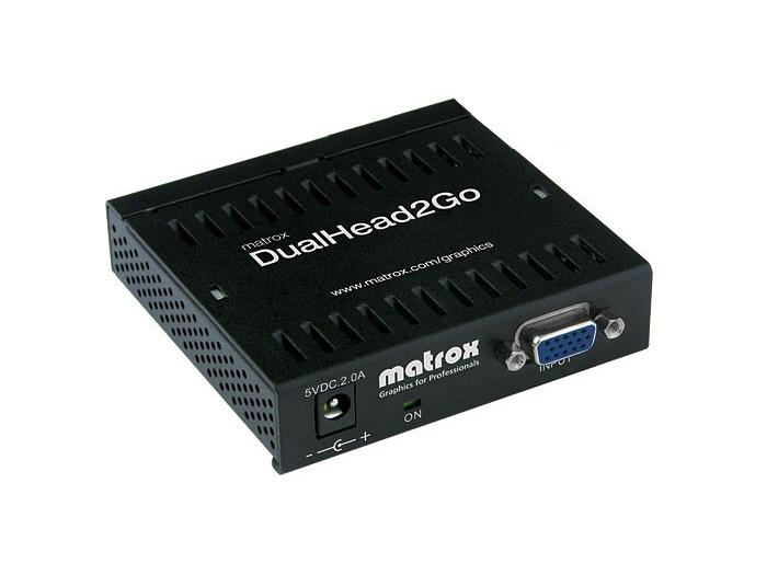 D2G-A2A-IF DualHead2Go External Graphics eXpansion Module for Windows by Matrox