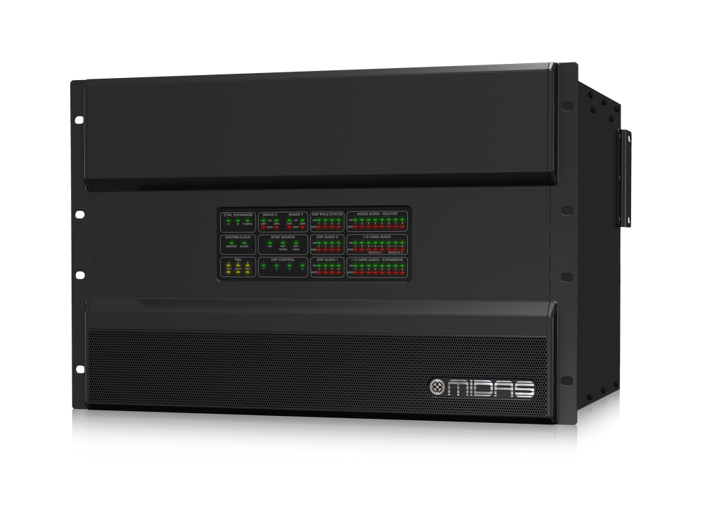 NEUTRON High Performance Audio System Engine with 192 Bidirectional Channels and 96 kHz Sample Rate by Midas