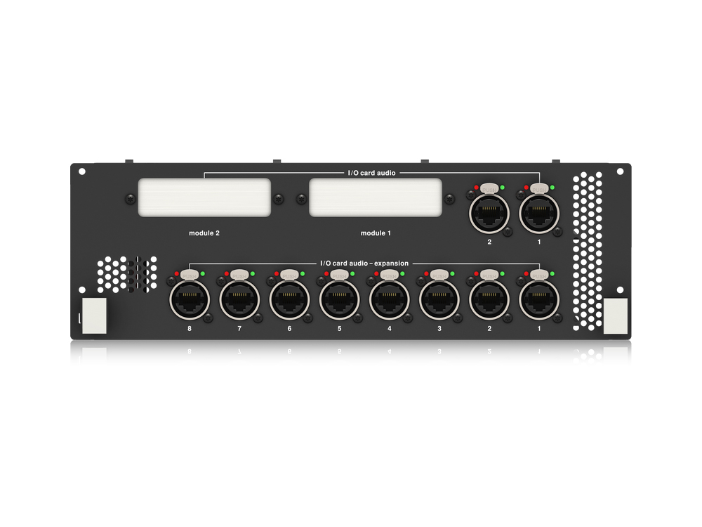 NEUTRON-NB Dual Network Bridge Expansion Module with 10 Port AES50 Interface for NEUTRON Audio System Engine by Midas