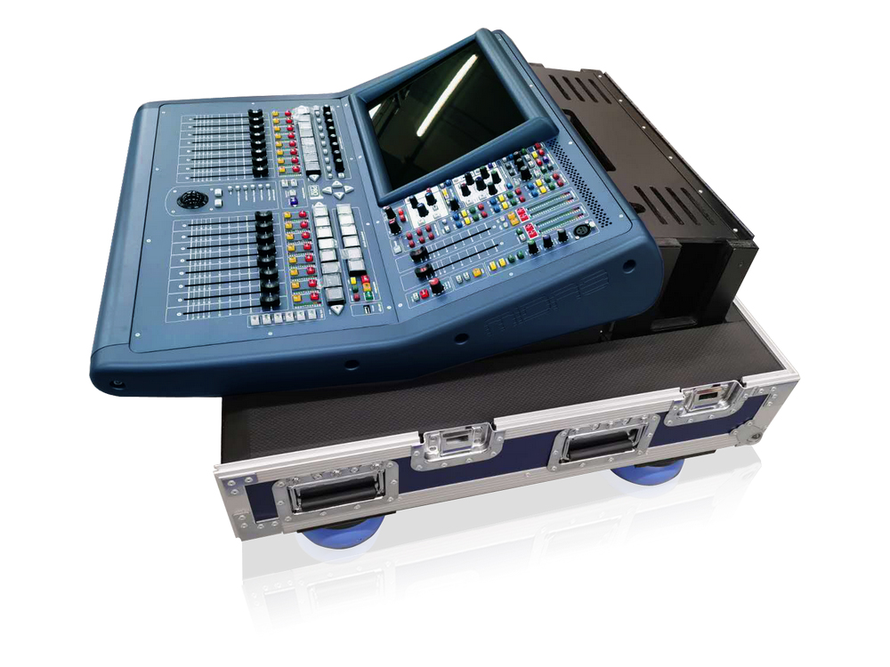 PRO1-TP 48-Ch Live Digital Console with 24 Midas Microphone Preamps/27 Mix Buses/96 kHz Sample Rate/Road Case by Midas