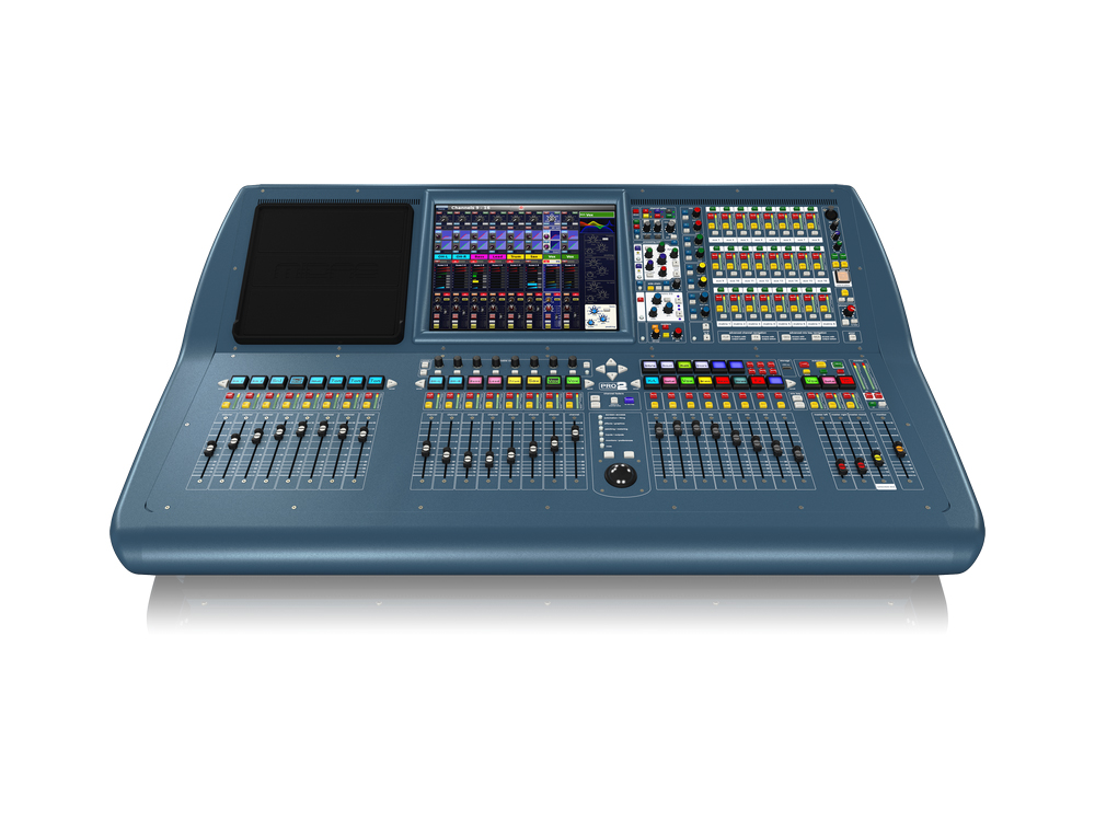PRO2-CC-TP 64-Ch Live Digital Console Control Centre with 8 Midas Mic Preamps/27 Mix Buses/96 kHz Sample Rate/Road Case by Midas