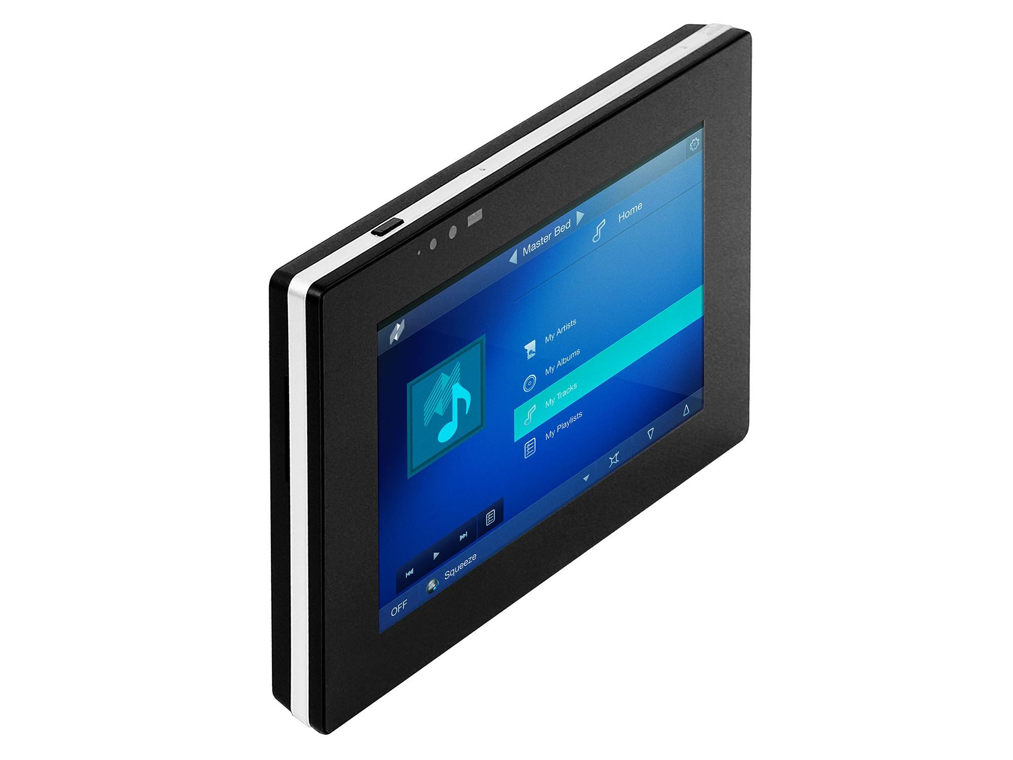 nTP7-B Auriel 7 inch Touch Panel/Black by Niles