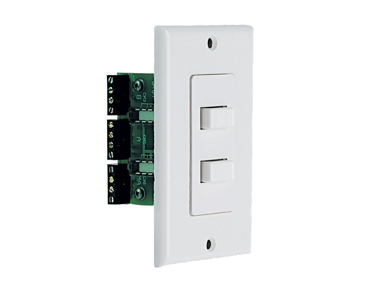 AB-2D Wall Mounted A/B or A B Selector for 2 Pair of Speakers (White) by Niles