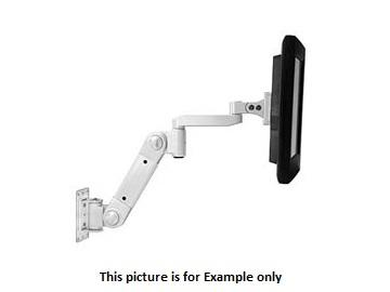 arm-wl-lcd-he Wall Mount LCD Arm with Heavy Load Extension/White by NTI