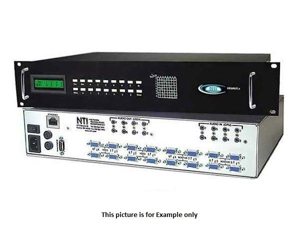 sm-32x2-av-lcd 32x2 VGA Audio/Video Matrix Switcher by NTI