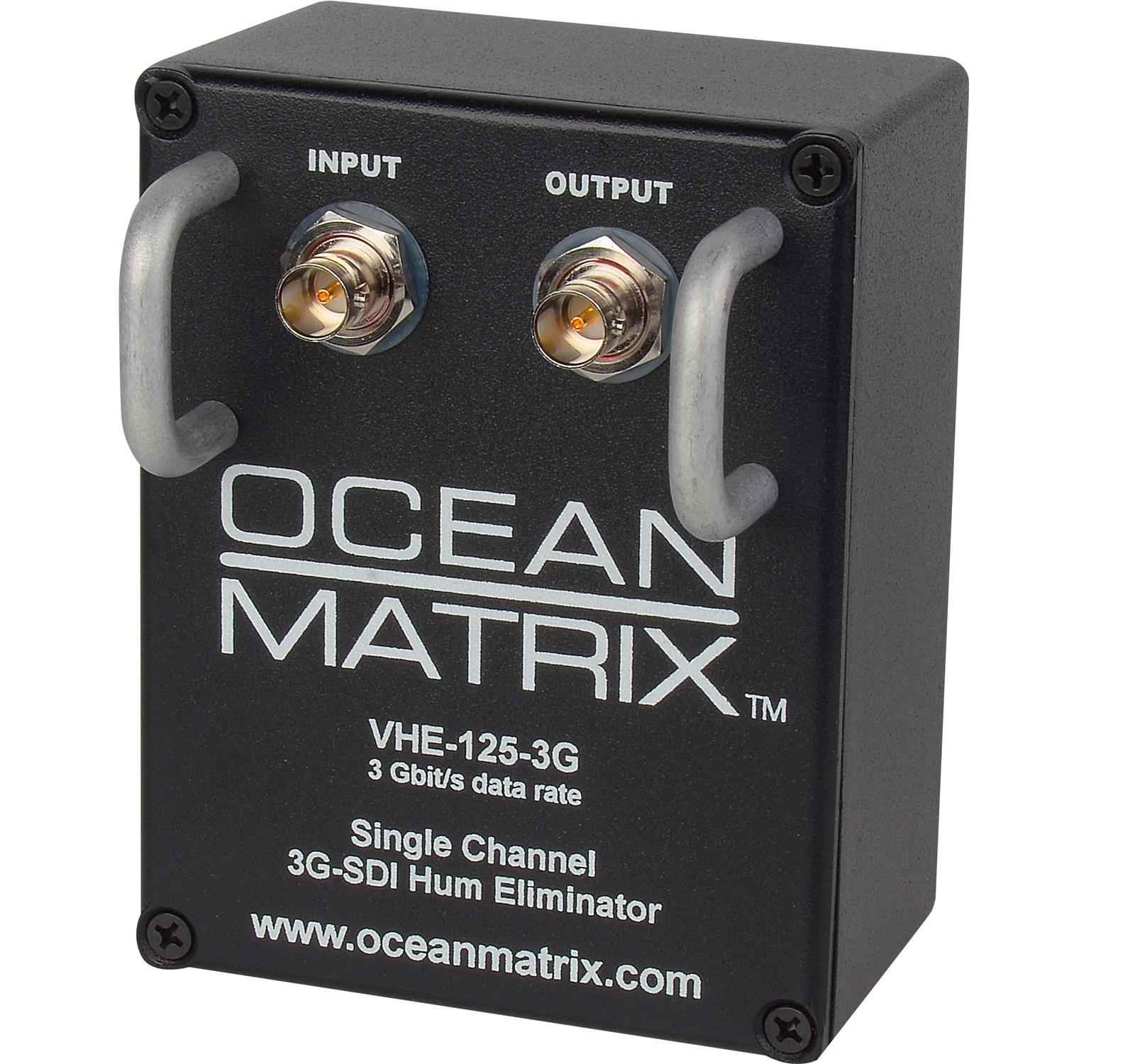 VHE-125-3G 3G-HD-SDI/SDI 1-Channel Video Hum Eliminator w/Handles by Ocean Matrix