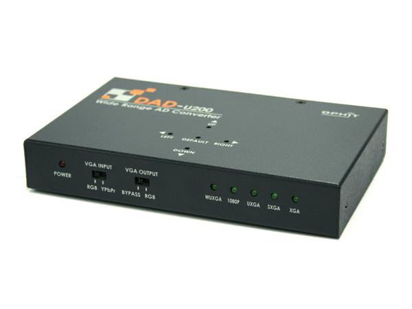 DAD-U200 VGA to DVI converter with Dual output/1080p/1920x1200 by Ophit