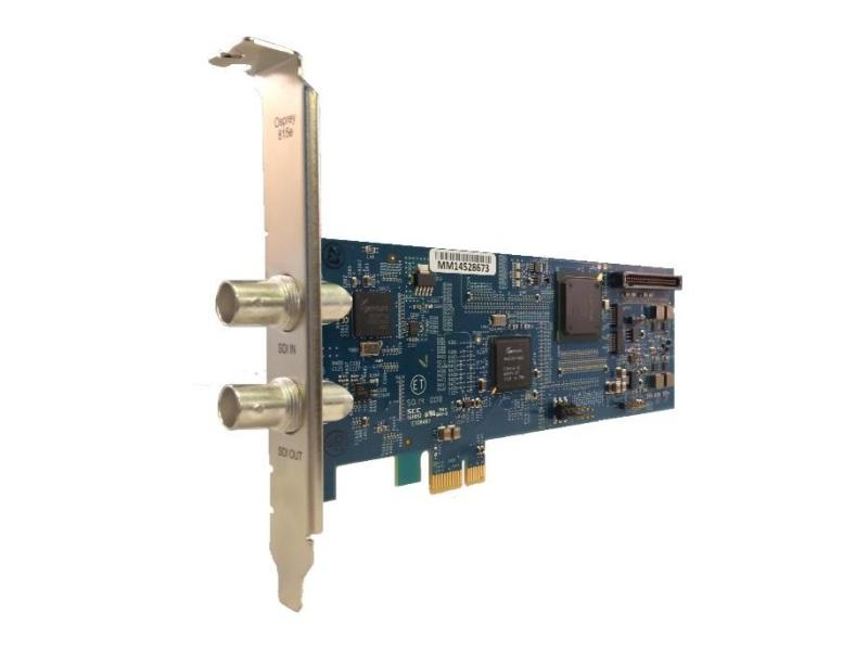 95-00486 Single Input SDI or DVB-ASI Video Capture Card with Loop Out (815e) by Osprey