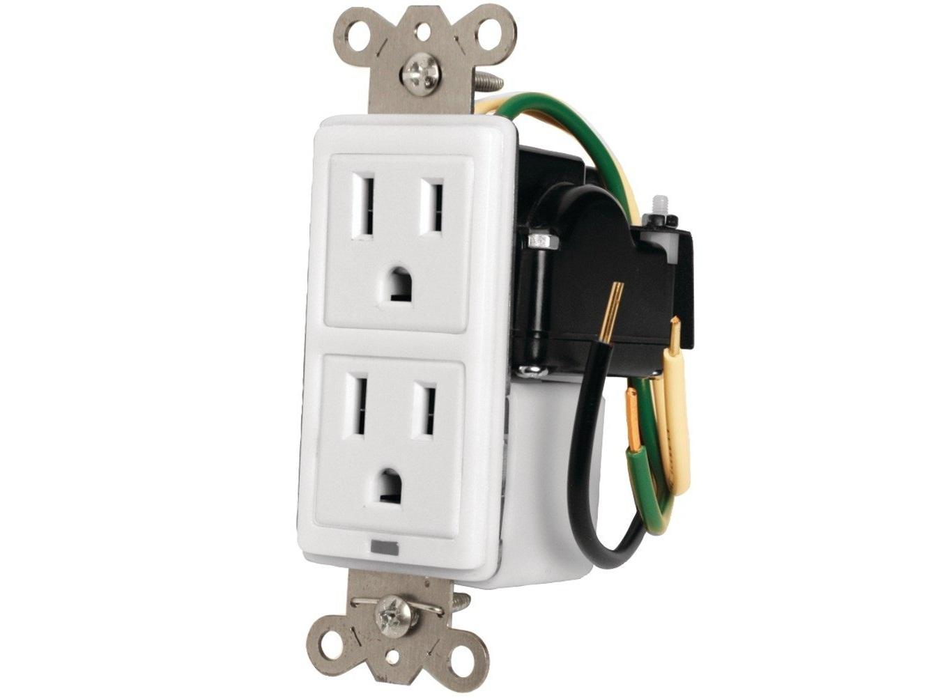 MIW-SURGE-1G Single Gang In-Wall Surge Protector by Panamax