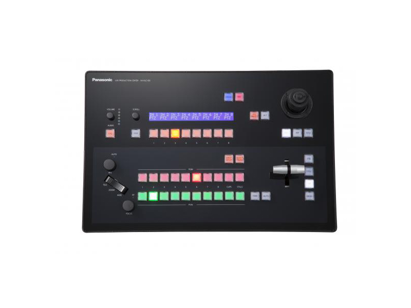 AV-HLC100P Live Streaming Video Switcher with NDI/SDI/HDMI by Panasonic
