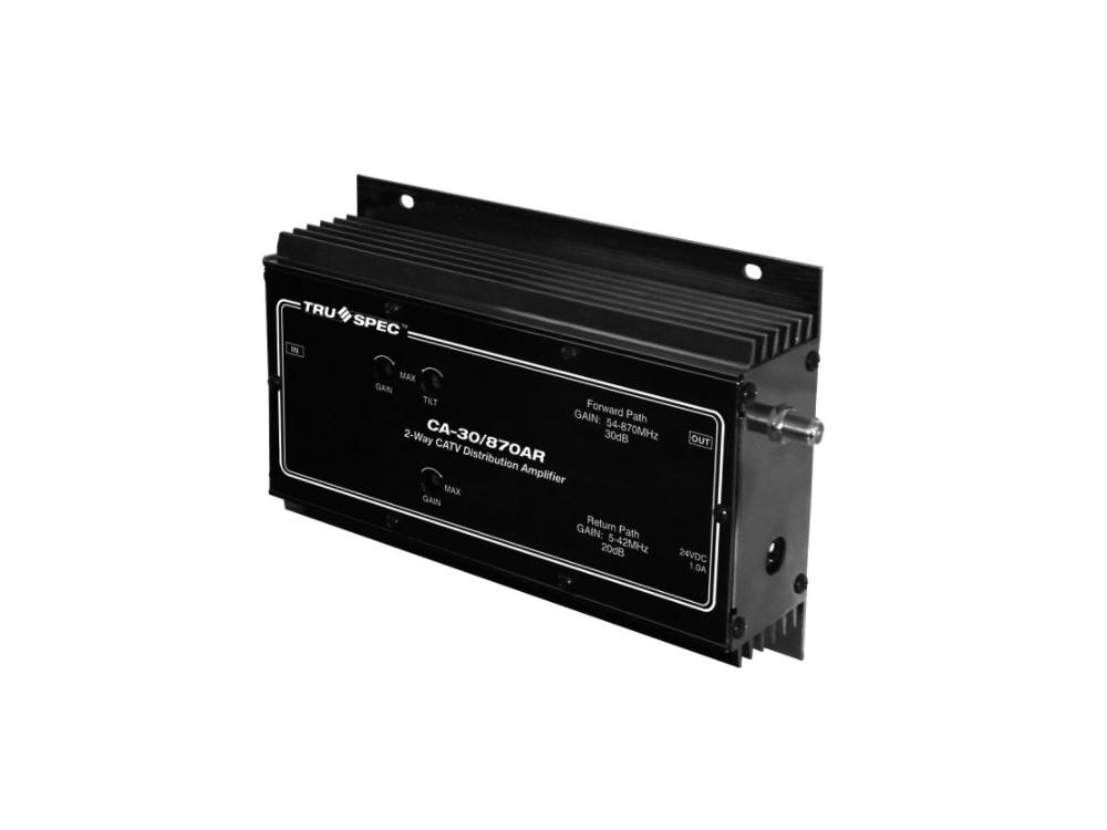 CA-30/870AR 870 MHZ Bidirectional CATV Distribution Amplifier by Pico Digital