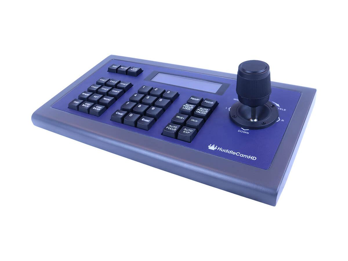HC-JOY-G3 Third Generation easy-to-use RS-232 PTZ Joystick Controller with sturdy metal case by PTZOptics